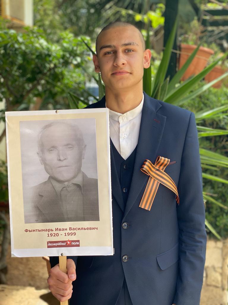 Бессмертный полк в честь 75-летия победы над фашизмом в ВОВ.