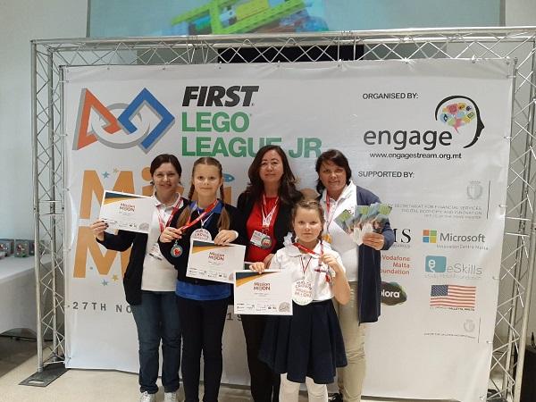 Фестиваль робототехники First Lego League Junior